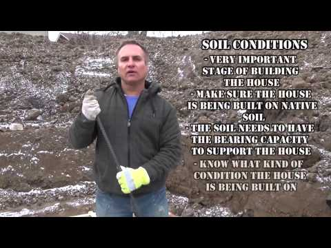 How To Build A House: Checking For Soil Condition Ep 17