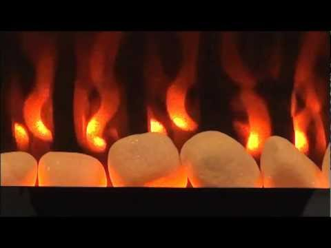 EF-WM402 Wall mount electric fireplace - Flame Illusions
