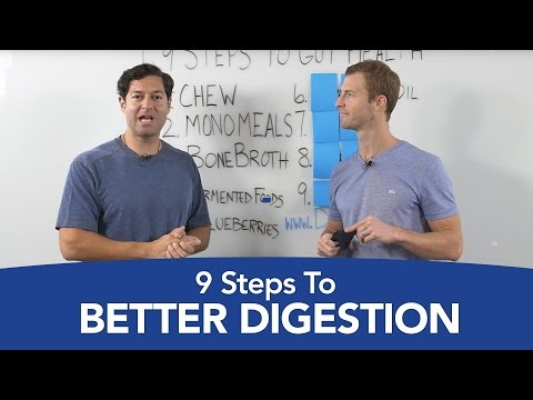 Gut Health: 9 Steps to Better Digestion