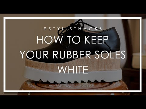 Stylist Hack: How to Keep Your Rubber Soles White