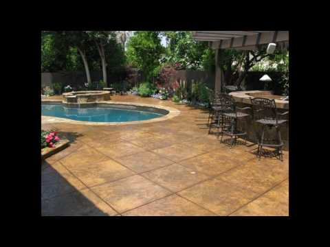 stamped concrete patio ideas