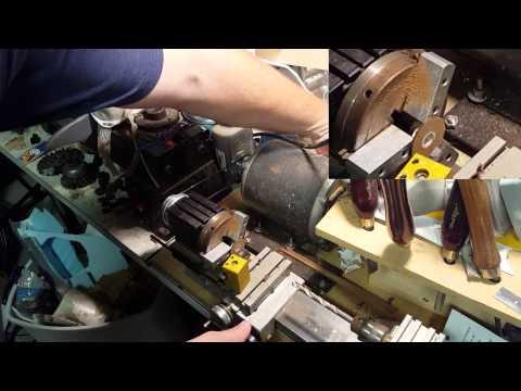 Facing a Motor Mount with a Taig Micro Lathe