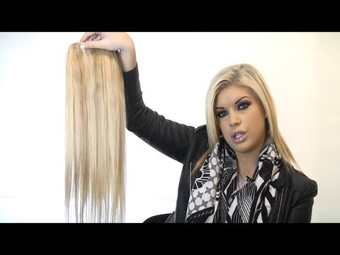 Quad Weft Clip In Hair Extensions (One Piece) - By Cliphair Limited