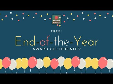 Free Student Certificate Templates!