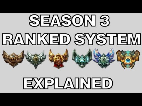 League of Legends Season 3 Ranked system explained
