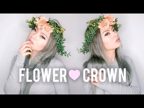 DIY Fresh Flower Crown | Wedding / Prom