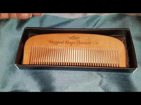 Handmade Wood Comb