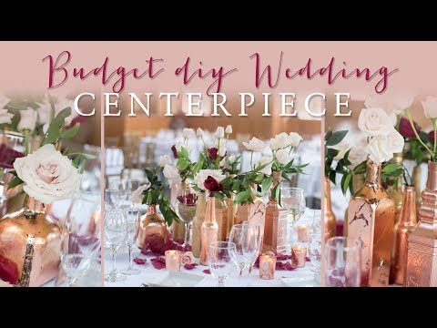 DIY Wedding Centerpiece on a Budget