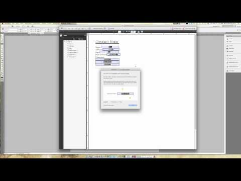 How To: Interactive PDF Acrobat Adobe Pro