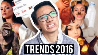 ATTEMPTING 16 TRENDS FROM 2016 | TheDailyDanny