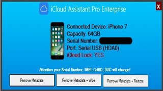 iCloud Assistant Pro Enterprise ACTIVATED free and get any