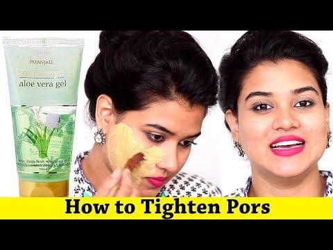 How to Tighten Pores on Face Naturally (Hindi)