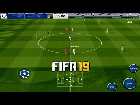 FTS 19 MOD FIFA 19 UCL Edition Android Offline 300MB Best Graphics