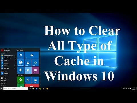 How to Clear All Type of Cache in Windows 10