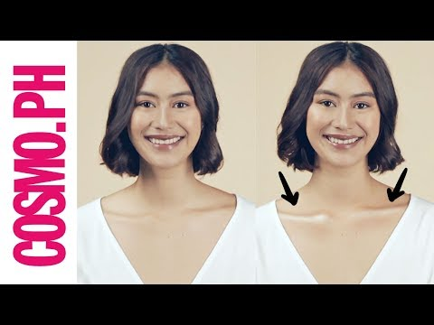 How To Contour Your Collarbones