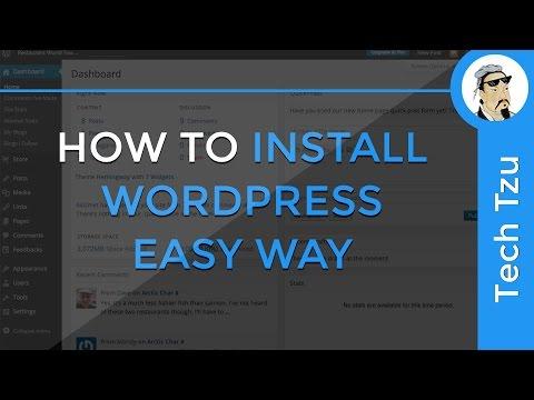 How to Install Wordpress on Desktop