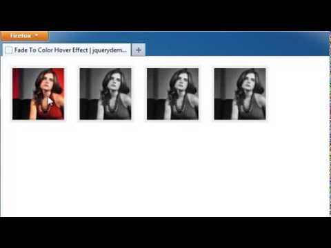jQuery Fade Image to Color on Hover