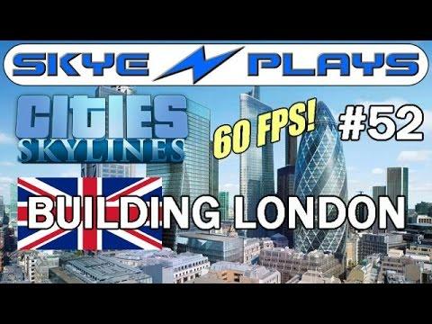 Cities: Skylines Building London #52 ►Paddington & West London Rail◀ Gameplay  [60 FPS]
