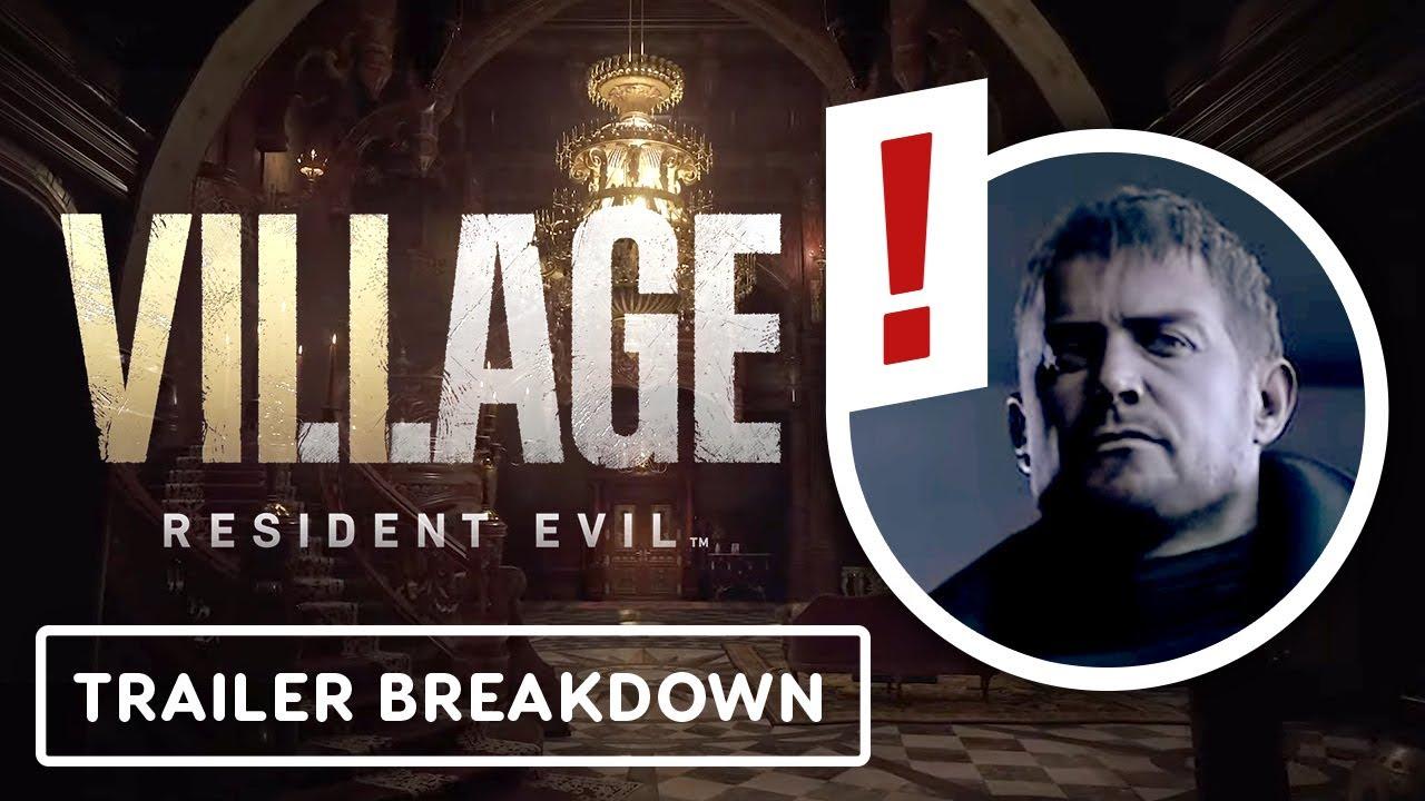 Resident Evil Village Trailer Breakdown - IGN Rewind Theater