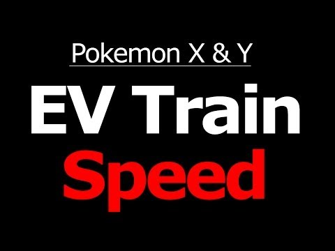 Where to EV Train Speed in Pokemon X and Y Horde Battle