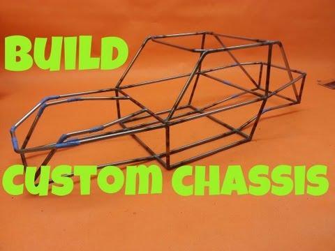 How I build my custom crawler tube chassis