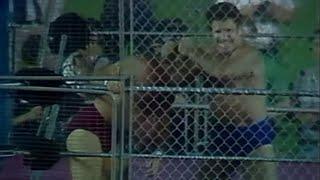 Bruno Sammartino vs. Larry Zbyszko - Cage Match: Showdown at Shea, August 9, 1980