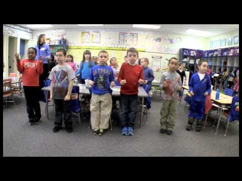 Math & Movement in first grade  part 2
