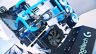 $4000 WATER COOLED Gaming PC Build from SCRATCH! - Time Lapse 2019
