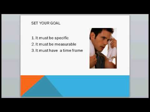 How To Write A Fitness Plan: Set Your Goal - [Workout Zone]