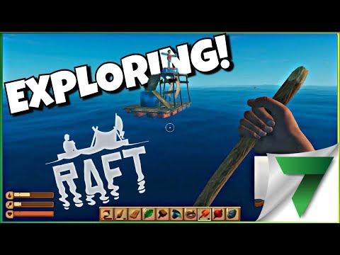 NEW FLOATING RAFT SUNK! Ep.2   RAFT GAMEPLAY
