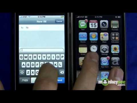 How to Text Message for Free on the iPhone 3G