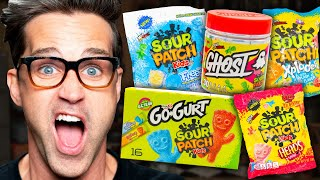 Tasting Every Flavor Of Sour Patch Kids