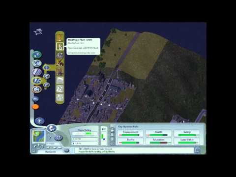 Sim City 4 Pt.4-More Cheats And Expanding The City