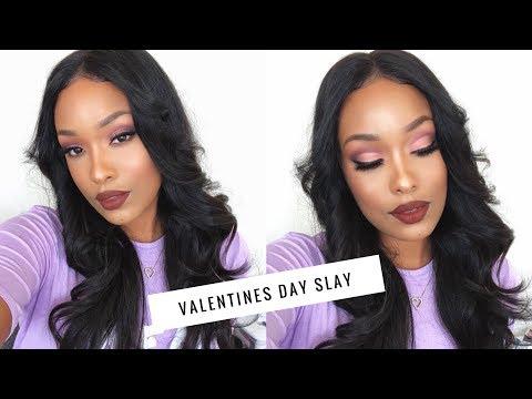 Glam AF Valentines Day Makeup! ft. ColourPop | FabulousBre