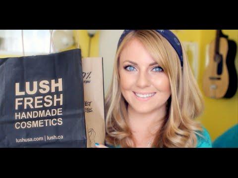 LUSH Skincare Haul // Combination, Sensitive, Acne Prone Skin