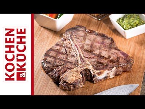 Porterhouse-Steak grillen| Kochen und Küche