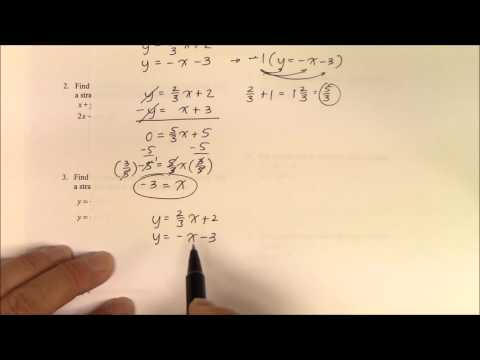 IH 013 Part 2 Solving Linear Systems by Substitution