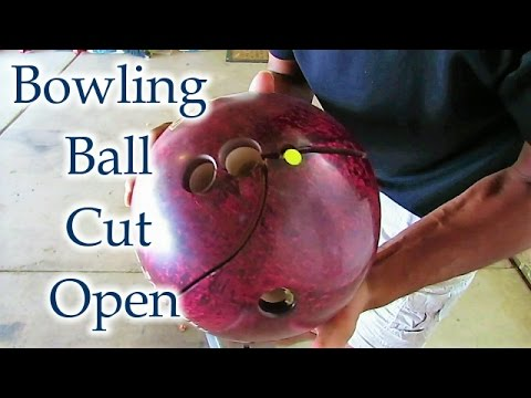 Bowling Ball Cut Open: Have You Ever Wondered What's Inside - Curiosity Satisfied