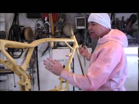 How To Custom Mould Your Motorcycle Frame By Vtwinstov8s.com