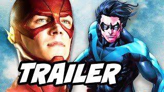 The Flash 3x19 Promo - Teen Titans Spinoff and Young Justice Season 3
