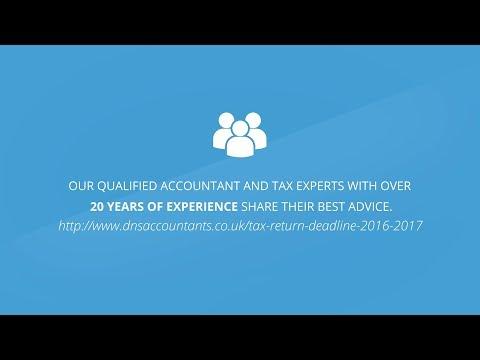 Tax Return Deadline 2016 2017 – UK Tax Return