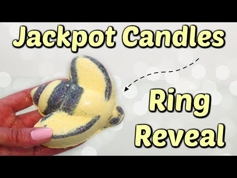 Jackpot Candles Ring Reveal - Queen Bee Bath Bomb!