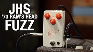 Download JHS '73 Ram's Head Fuzz White/Red Video