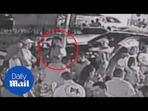 Xxx Mp4 Surveillance Video Shows Man Shoot David Ortiz 3gp Sex