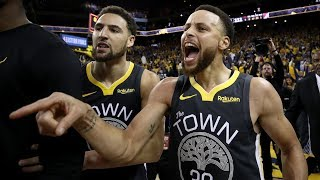Curry 37 Points! Blazers Blew 17 Pt Lead Game 2! 2019 NBA Playoffs