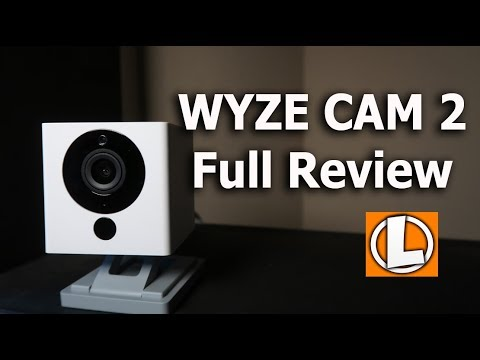 Wyzecam v2 Review 1080P WiFi Security Camera - Unboxing, Setup, Settings, Footage