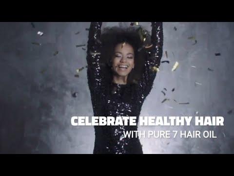 PURE 7 Hair Repairing Oil - Promo