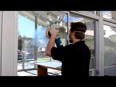 Scratch Removal and Glass Polishing Demo (Glass Savers Glass Restoration)