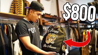 I WENT THRIFTING AND FOUND GUCCI!! ($800 GUCCI BAG)