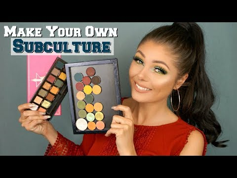 How To: Create Your Own Perfect Anastasia Subculture Palette ☕☕☕